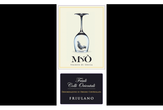 Italian wines in the world: Friulano Myò Vigneti di Spessa DOC