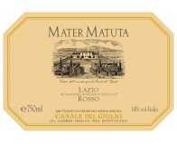 We have tasted for you the Mater Matuta Lazio Rosso IGT 2015 of Casale del Giglio