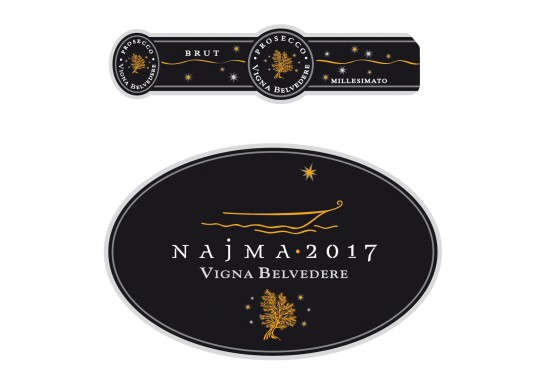 Italian wines in the world: Vigna Belvedere's Najma 2017