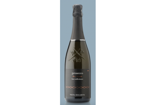 Italian wines in the world: Vigna Dogarina's Prosecco Spumante Brut Millesimato 2018